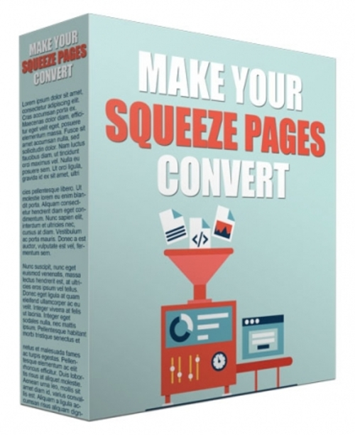 Product picture  Make Your Squeeze Pages Convert  Resell Rights/Giveaway Rig